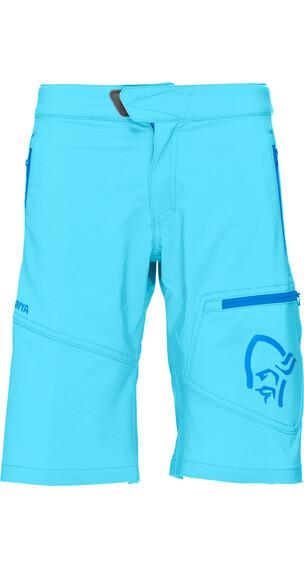 Norrøna Junior /29 Flex1 Shorts Cyantastic